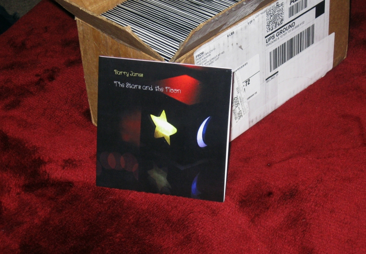 'The Stars and the Moon' CDs have arrived!