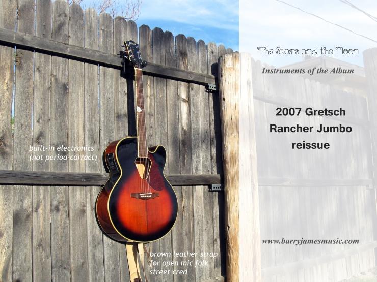 2007 Gretsch Rancher reissue
